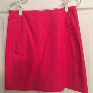 Loft pink pencil skirt